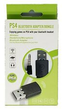 US Bluetooth 4.0 Headset Dongle USB Adapter Receiver Black for Playstation 4 PS4