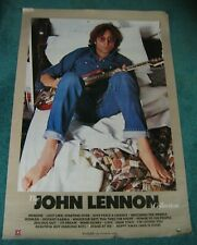 "THE JOHN LENNON COLLECTION 1982 USA Geffen records Promo Poster 26"" x 38"""