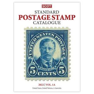 CKStamps : 2022 Scott Standard Postage Stamp Catalogue - Volume 1A,1B (US & A-B)