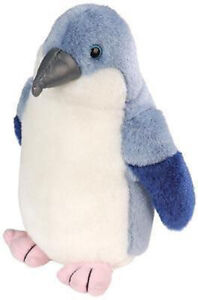 "Fairy Penguin Bird soft plush toy w/sound - Wild Republic 7"" /18cm NEW"