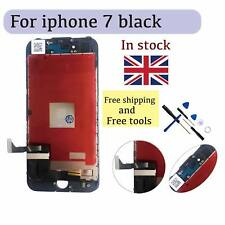 New Black+ iPhone 7 LCD Screen Digitizer Touch Glass Assembly with Tools