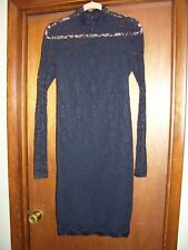 MODA International Black Lace Evening Dress Size L
