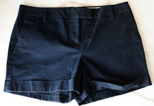 J.CREW Women's Shorts Size 4 City Fit Navy Blue