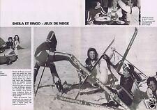 Coupure de presse Clipping 1977 Sheila & Ringo (2 pages)