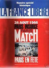 paris match n°2362 la france liberee paris en fete 1994