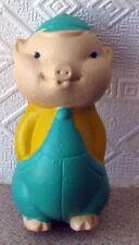 1960's Ussr Russian Soviet Rubber Sound Toy Piglet