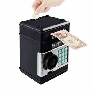 Kinder Spardose Tresor Safe Elektronisch Geldautomat ATM Passwort Sparbüchse DE