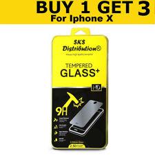 100% Genuine vetro temperato protezione protezione schermo per Apple iPhone X-NUOVO