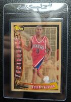 1996 TOPPS YOUTHQUAKE #YQ1 ALLEN IVERSON ROOKIE CARD RC SIXERS HOF NM-MT