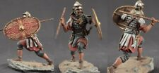 Tin toy soldiers  painted 54 mm Roman legionnaire with a spear