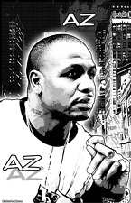 "AZ  11x17  ""Black Light"" Poster"