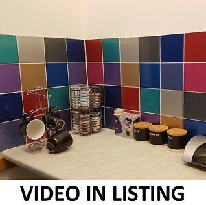 "Gemstone Glitter Tile Stickers Transfers for 6"" x 6"" (150mm) Kitchen / Bathroom"