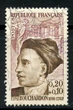 STAMP / TIMBRE FRANCE OBLITERE CELEBRITE  N° 1346 EDME BOUCHARDON