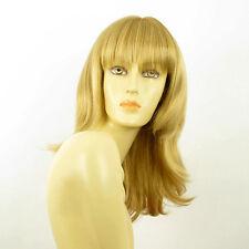 Perruque femme mi-longue blond doré GLADIS 24B