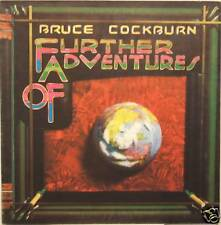 """BRUCE COCKBURN """"FURTHER ADVENTURES OF"""" lp Italy n/mint"""