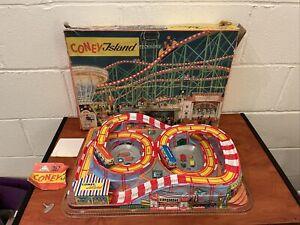 Technofix No 307 Coney Island TIN TOY GERMANY BOXED!!!