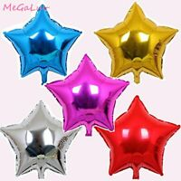 5Pcs 18 Inch Star Aluminum Foil Balloon Helium Wedding Birthday Party Decoration