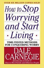 Carnegie, Dale-How To Stop Worrying And Start Living  BOOK NEW