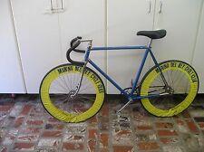 Track Bike (Velodrome) Unknown Frame , Campy Hubs, Strong Lite Crank