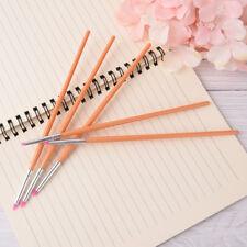 5pc silicone nail art design stamp pen brush uv gel carving craft pencil d MI