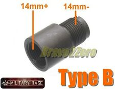 Airsoft Barrel Adapter CW to CCW 14mm+ to 14mm- for AEG GBB GBBR TYPE B
