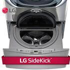 "LG WD100CV - (27"" W x 14"" H) Graphite Pedestal w/ Built-In 1.0 Cu Ft Washer"