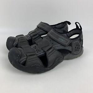 Crocs Swiftwater Fisherman Leather Sport Sandals 204562 Men's Size 10