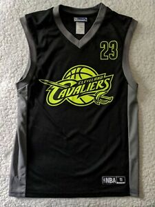 Cleveland Cavaliers CAVS Neon LeBron James Youth Basketball Jersey SZ S