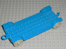 LEGO Fabuland blue Car Chassis 14 x 6 Old ref x612 / Set 137 344 134 347 3635...