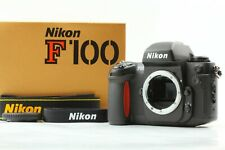 [Almost MINT in Box] Nikon F100 Film Camera Body w/ Strap From Japan #1546