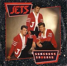 DISCO 45 Giri The Jets - Somebody To Love / Mandy