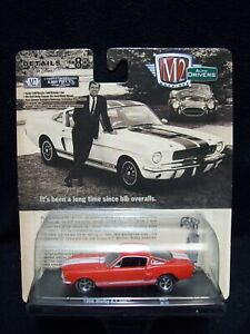 M2 Machines Auto Drivers 1966 Shelby GT 350 Limited Edition.
