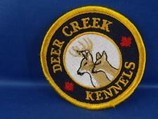 DEER CREEK KENNELS BUCK DOE  PATCH VINTAGE CANADA SOUVENIR COLLECTOR