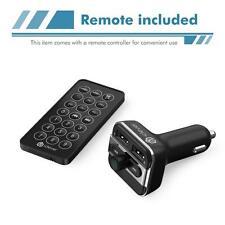 iClever Bluetooth Hands-free FM Transmitter Radio Adapter Car Kit Dual USB Port