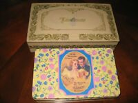Vintage Loveliness & Whitman's Chocolates Candy Tin Lot