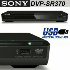 Sony DVP-SR370B DVD-Player mit USB MP3 -OHNE FERNBEDIENUNG-