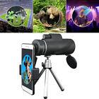 Universal 40X60 Cell Phone HD Telescope Camera Lens Zoom Clip Tripod Mount Black