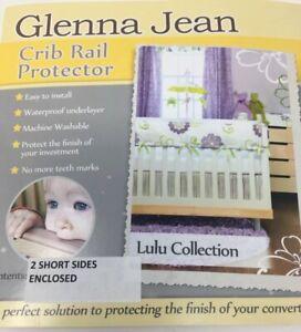 Glenna Jean Crib Rail Protector LuLu Collection 2 Short Sides Teething