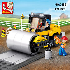 Sluban B0539 Engineering Street Roller Figure Building Block Toy blocks toys