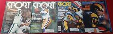 Huge Lot Of Four Los Angeles Rams QB Publications SI Plus Three Issues Of Sport