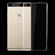 Ultra Thin Slim Clear Crystal Soft TPU Silicone Case Cover Skin for Huawei Phone P8 Lite
