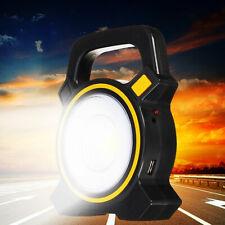 FJ- 60W Solar Portable USB Rechargeable COB LED Flood Work Light Camping Lantern