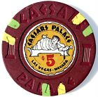 Caesars Palace casino of Las Vegas Nevada Chip $5 1972