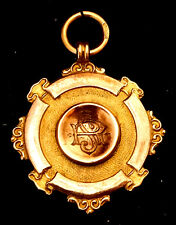 9ct Gold WW1 Tribute Medal. Blackhall Welcome Home Fund Hartlepool County Durham