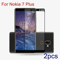 Full Cover Explosion-proof HD Tempered Glass Screen Protector For Nokia 7 Plus