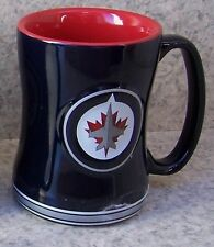 Coffee Mug Sports NHL Winnipeg Jets NEW 14 ounce cup with gift box