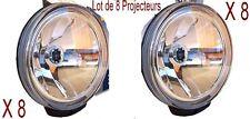 8 Phares Projecteur Lampe Longue Portée,Comet FF 500 HELLA (sans ampoule) 12 V