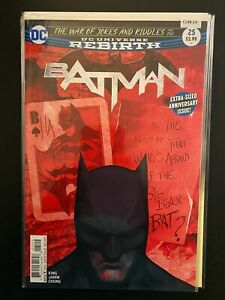 Batman 25 2nd Print Variant High Grade DC Comic Book CL98-14