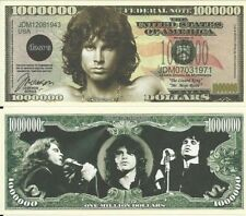 THE DOORS One Million Dollar Bill Note $1000000 BUY 2 GET 1 FREE