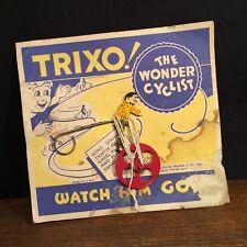 Vintage Toy Marx Tin Litho Trixo The Wonder Cyclist PRIORITY MAIL